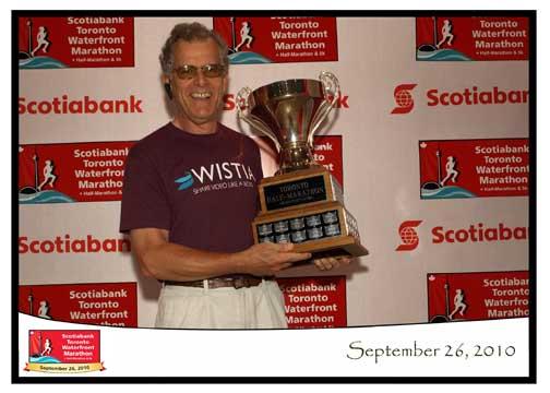Ron Foreman Scotiabank Toronto Waterfront Half-Marathon
