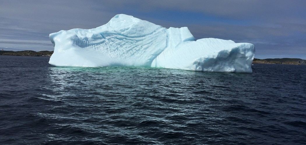 Ice berg Off the coast of Twillingate